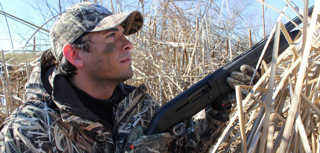 Man Hunting Teal
