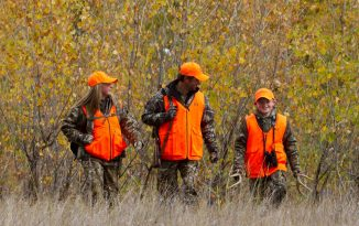 Hunters in Blaze Orange